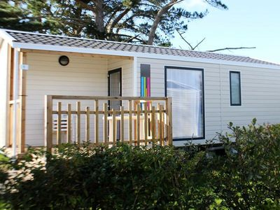 Photo for Camping Kerlaz *** - Mobile Home MALAGA 3 Rooms 4 People