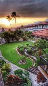 Enjoy the sunset from the lanai