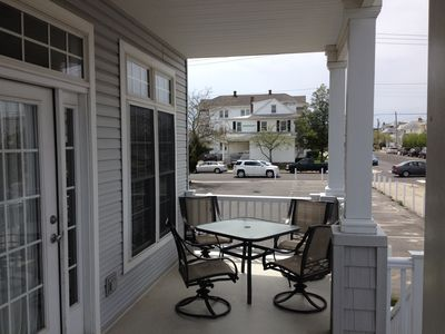 Front Porch with Table & Chairs