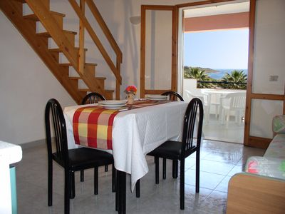 Photo for Holiday home with sea view 150 m from the beach