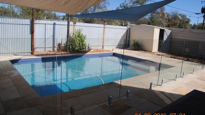Villa with pool in the Centre of Alice Springs