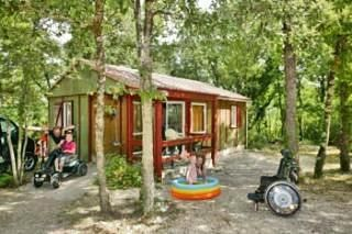 Photo for Camping la Peyrugue *** - 3-room PMR Well-being Chalet 5 people