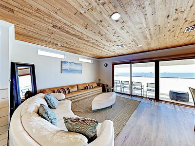 Photo for New Listing! Coastal Retreat w/ Fireplace & Ocean Views
