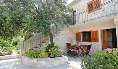 Photo for Holiday house with terrace and garden in the middle of the beautiful old town