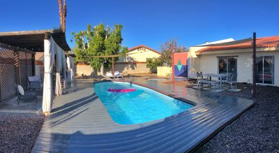Photo for Palm Springs Private Pool and hot tub Oasis 3 bed 2 bath