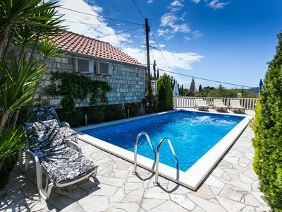 Photo for Amazing Villa with Beautiful Swimming Pool near famous Old Town of Dubrovnik