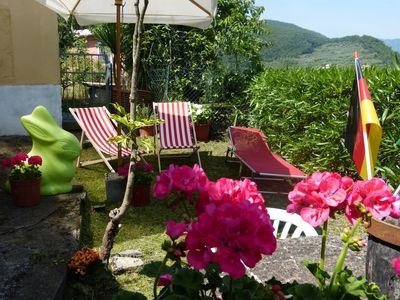 Photo for Sunny house, in a small Ligurian village, 15 minutes drive from the sea