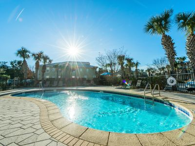 Photo for 30A Balcony -Shared Pool☀️Inspected & Disinfected☀️2BR Topsail Village 422