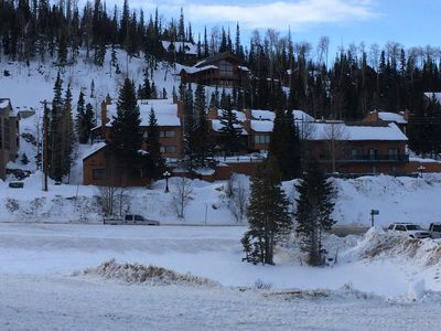 Photo for Best deal in town! Right across from ski lifts. Remodeled 2 story studio loft.