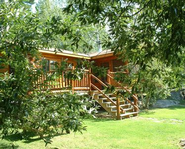 Photo for 3-bedroom Lakefront cabin with magnificent views Ely, MN