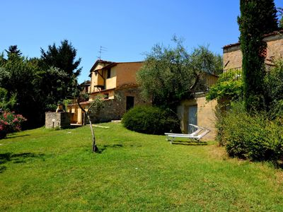 Photo for Private Villa with private pool, internet, TV, balcony, washing machine, parking, close to Florence