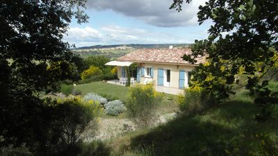 Photo for House on the hills of Provence overlooking vineyards ...