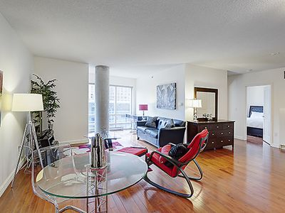 Photo for Two bedroom - Modern Furnished Apartment - Financial District & Old Port Montreal