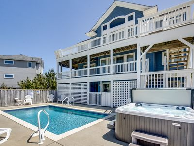 Photo for Here Comes the Sun | 370 ft from the beach | Private Pool, Hot Tub