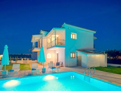 Photo for Brand new villa with private pool, five bedrooms, free Wi-Fi, great gardens