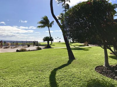 Photo for Romantic Oceanfront Condo, 1BR Ground Floor, Starts @ $230 ~ Maalaea Surf C5