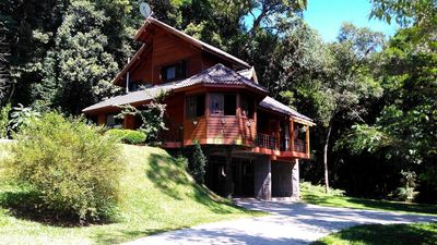 Photo for In the Vale do Bosque condominium, in the center of Gramado, comfort for 11 people!