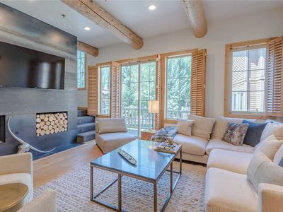 Photo for New Listing! Upscale Townhome - Walk to Bald Mt. Lifts and Downtown Ketchum