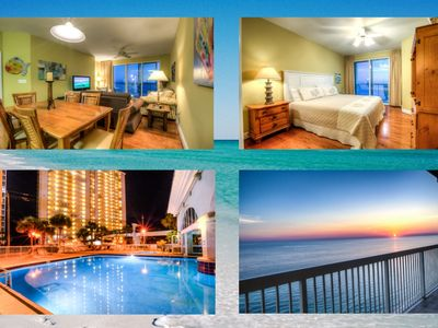 Photo for SNOWBIRD RATES POSTED - Ocean Front, Amenities Galore, Luxury 2 Bd Plus Bunks At Caledon 2108