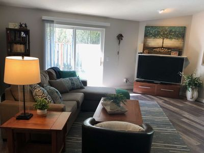 Photo for Single Level Gem w/ Foosball Two Blocks to Park w/ Tennis and B-Ball Courts, 12 miles to Portland