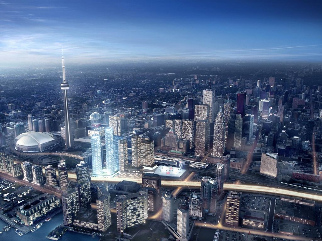 Luxury Condo Near CN Tower, Rogers Center, Ripley's Aquarium