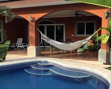 Photo for Walk to beach or enjoy private pool in this  2500 Sq/ft 3 bedroom 3 bath home
