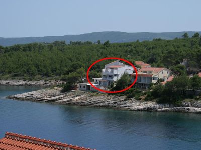 Photo for Studio appartment in Basina (Hvar) capacity 0+2