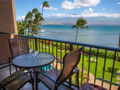 Photo for $145 Spring Special!  Valid 06/13-06/24! Maalaea Banyans Oceanfront #310!