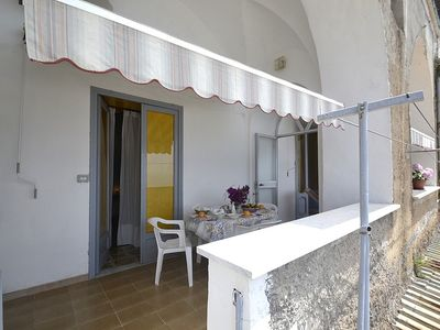 Photo for Casa Farfalla: A bright apartment that is part of a villa which faces the sun and the sea.