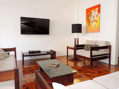 Photo for Spacious 4 bedroom apartment in Ipanema