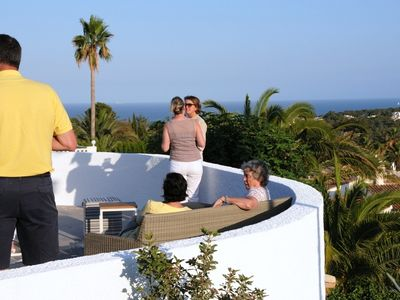 Photo for PRIVATE VILLA SEA VIEW - EVENING SUN - FULL AIRCO - WIFI - PRIVACY - HEATED POOL