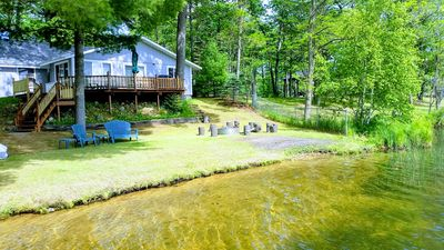 Photo for LAKEFRONT COTTAGE / LK.GEORGE,MI/ FAMILY- FRIENDLY