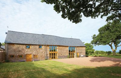 Photo for This converted barn sits on top of a hill and has breath-taking views.