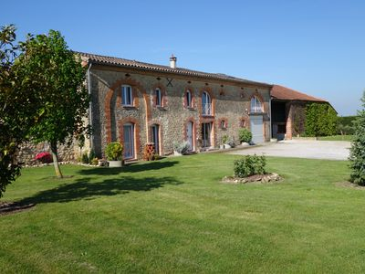 Photo for 2 comfortable 2-room apartments with SPA in a lauragaise farmhouse
