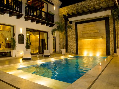 Photo for Beautiful House Located in the hisctoric Center Cartagena de Indias,