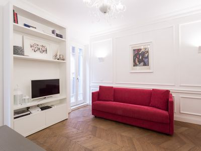 Photo for Luxury apartment in the heart of Rome - Spanish Steps, wi-fi, a / c,