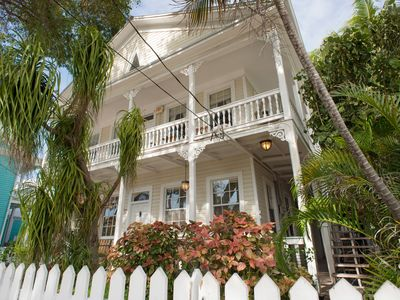 Key West, Florida downtown location.  509 South Street front view. Parking
