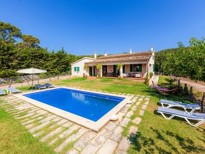 Photo for Spacious villa with garden and pool - Villa Es Bosquet