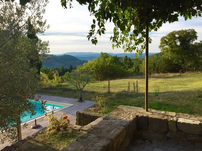 Photo for Renovated farmhouse of the 16th, charming, south Ardèche