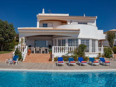 Photo for Luxury 6/7 bedroom detached villa with private pool and games room - 106801/AL