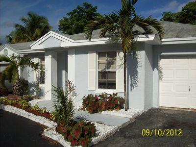 Photo for Beautiful completely updated 2/2 House in Tamarac with community pool