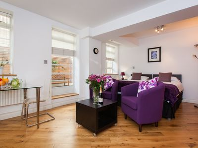 Photo for 4 Star Quality Studio Suites near Sloane Square - Great Location and Rates