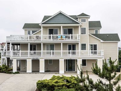 Photo for #426: Partial OCEANVIEW Corolla w/HtdPool, HotTub, Elev, RecRm & ThtreRm