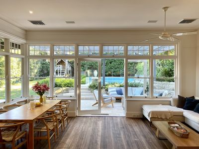Photo for Gorgeous renovated federation family house with pool 8 mins from CBD