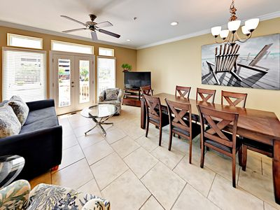 Large Townhouse | 4-Minute Walk to Beach; Nearby Restaurants