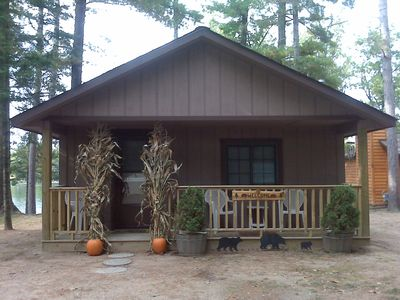 Photo for 3 Bedroom cabin on West Bay of Little Saint Germain Lake!