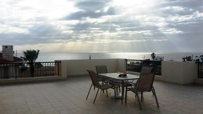 Photo for FABULOUS VIEWS,  WIFI, TWO BEDROOMED PENTHOUSE! LARGE BALCONY, VIEWS