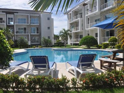 Photo for Family-Friendly Luxury Condo with Large Pool in Town Center
