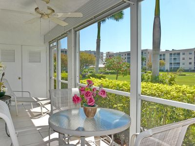 Photo for Private condo w/ heated pool, hot tub & short walk to Resident's Beach
