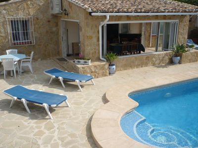 Photo for superb villa 6 persons 2 km beach and town center